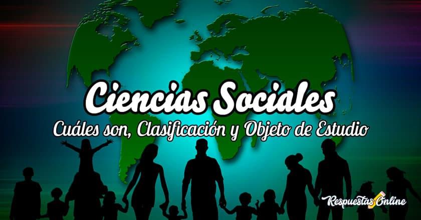Cuáles son las ciencias sociales