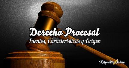 Cuáles son las fuentes del derecho procesal