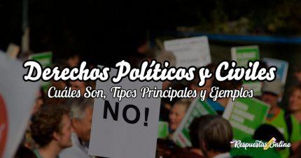Cuáles son los derechos civiles y políticos