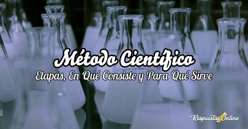 En qué consiste método científico